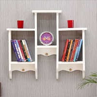 Living Room Wooden Bookcase