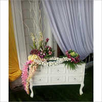 Decorative Wedding Fiber Table