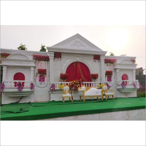 Western Wedding Stage