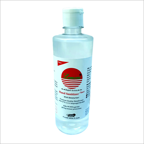 500 ml Liquid Hand Sanitizer With Moisturiser