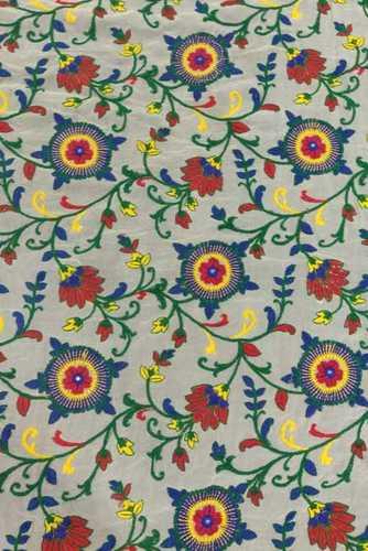 Multicolor Thread Embroidery