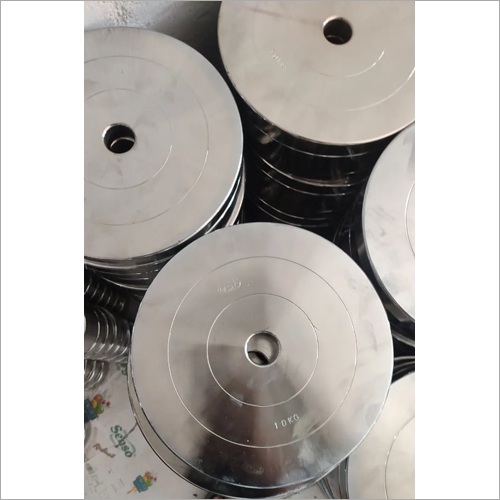 10 kg Stainless Steel Gym Plates