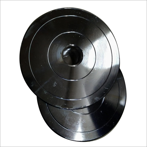 5 kg Rubber Coated Gym Plates