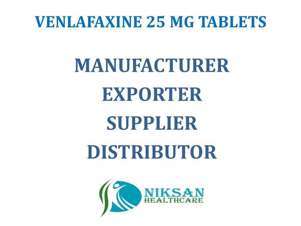 VENLAFAXINE 25 MG TABLETS