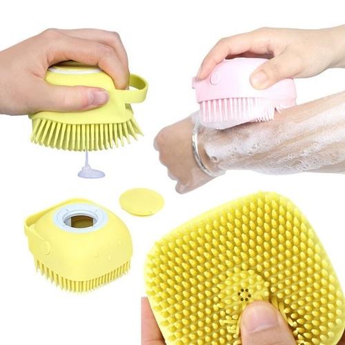 Soft Silicone Bath Massage Brush