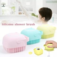 Soft Silicone Bath Massage Brush