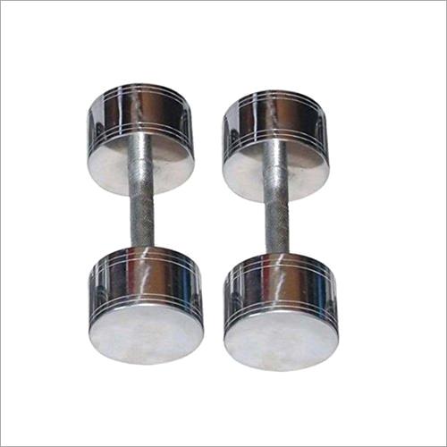 Stainless Steel Chromed Dumbbell