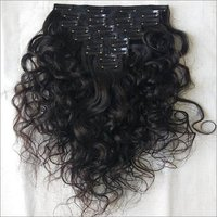 Indian Body Wave Clip-On Hair