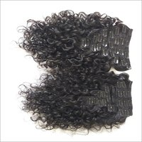 Raw Curly Clip On Hair Extensions