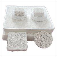 Alumina Ceramic Foam Catalyst Carrier