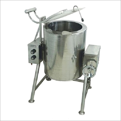 Silver Stainless Steel Bulk Cooker