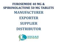 FUROSEMIDE 40 MG &SPIRONOLACTONE 50 MG TABLETS