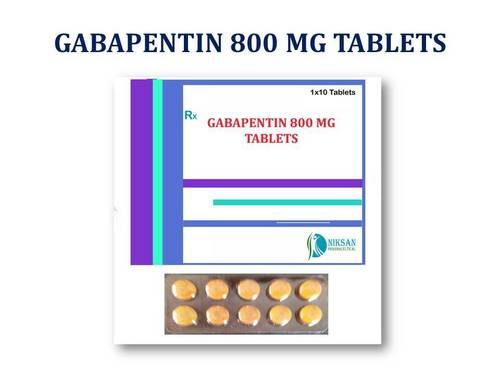 GABAPENTIN 800 MG TABLETS