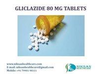 GLICLAZIDE 80 MG TABLETS