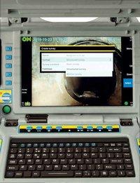 PEARPOINT flexitrax P550c Modular Crawler System INSPECTION CAMERA