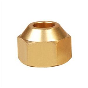 Brass Flare Short Nut