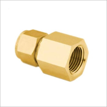 Brass Female Connector Assembly