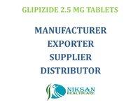 GLIPIZIDE 2.5 MG TABLETS