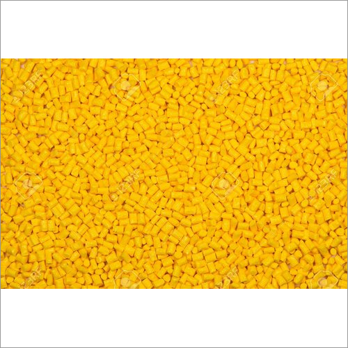 Yellow Nylon Glass Filled Granules