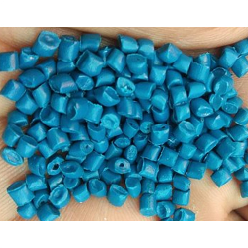 Blue Nylon Glass Filled Granules
