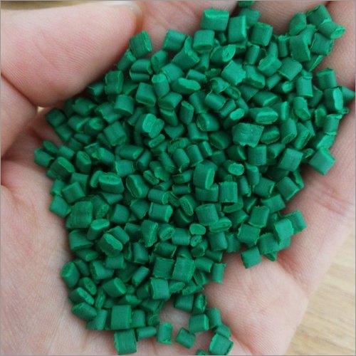 Green ABS Plastic Granules