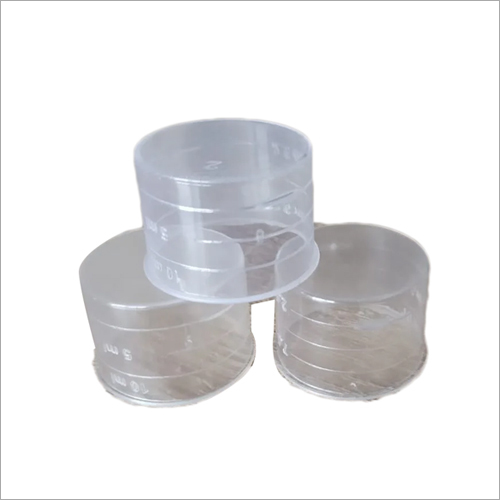 Transparent Plastic Syrup Measuring Cups
