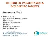 IBUPROFEN, PARACETAMOL & DICLOFENAC TABLETS