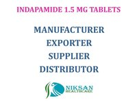 INDAPAMIDE 1.5 MG TABLETS