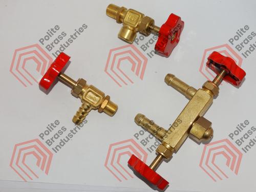 Brass S valve, Two way valve