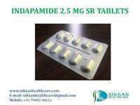 INDAPAMIDE 1.5 MG TABLETS