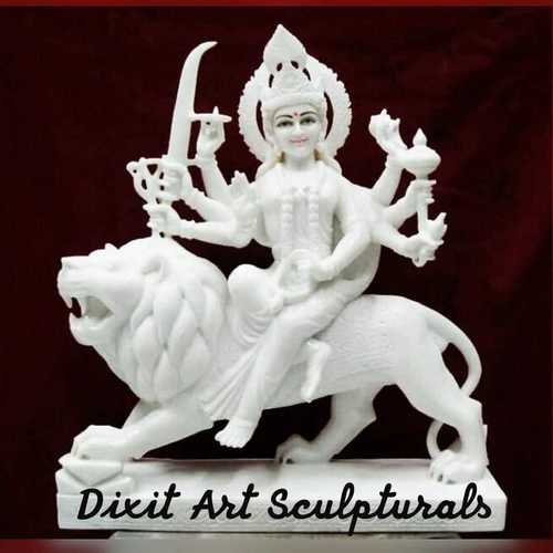 Marble Durga Mata Devi Statue