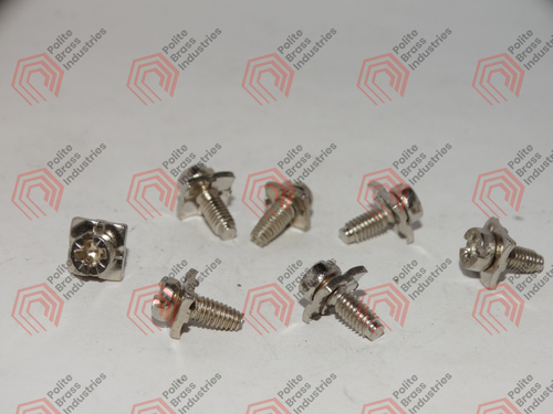 brass bolts and screw