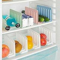 4 Pcs Freezer Storage Divider (Random Colors)