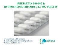 IRBESARTAN 300 MG &HYDROCHLOROTHIAZIDE 12.5 MG TABLETS