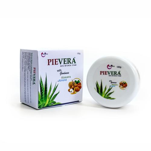 Pievera Anti-Wrinkle Cream with goodness of Aloevera &Almond, 100g