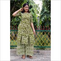 Ladies Fancy Mehendi Ethnic Suit