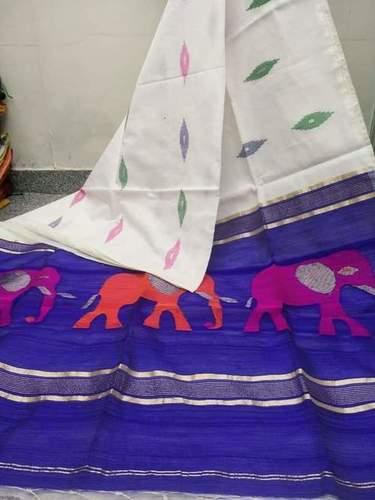 Handloom Elephant Saree