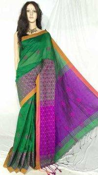 Cotton Silk Jamdani Saree