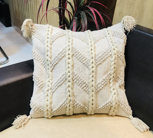 Indian Handmade Natural Cotton Cushion Covers