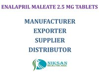 ENALAPRIL MALEATE 2.5 MG TABLETS