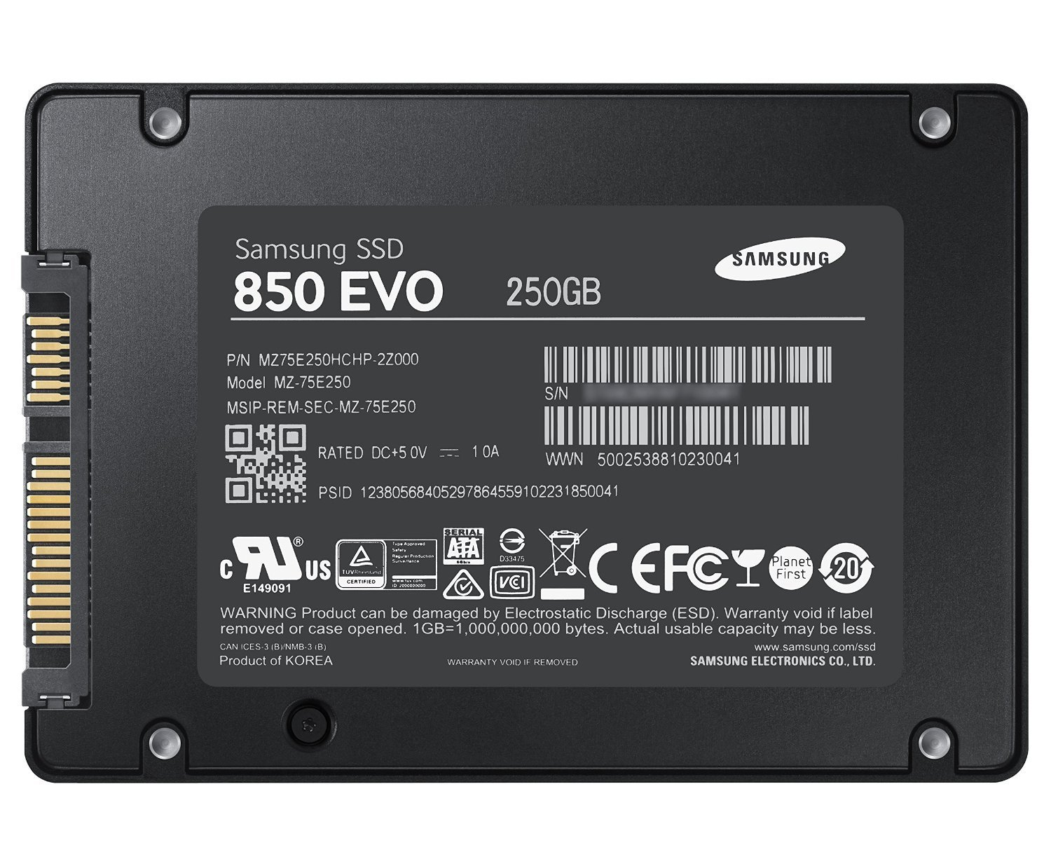 Samsung Solid State Drive SL1500