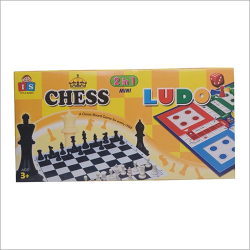 Kids Chess And Ludo