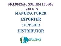 DICLOFENAC SODIUM 100 MG TABLETS