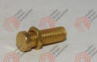 brass nut brass bolt