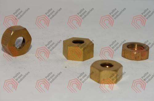 brass hexagon nut