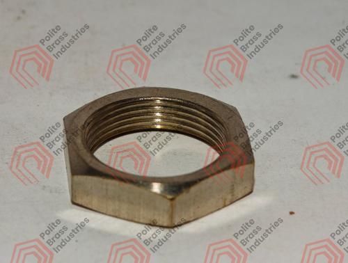 threaded brass nut