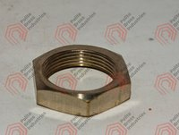 threaded brass nut
