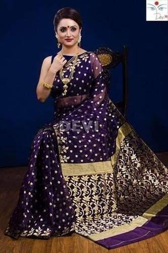 Resom Jamdani Saree