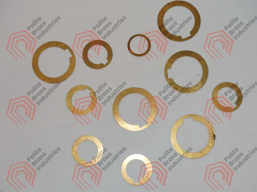 Brass sheet cutting washer