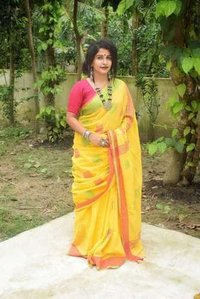 Cotton Lilen Box Saree